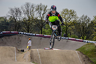 #80 (HERMAN David) USA at the 2016 UCI BMX Supercross World Cup in Papendal, The Netherlands.