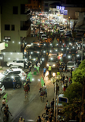 June 24, 2017 - Lake Worth, Florida, U.S - Thousands march down the main street of Taybeh, Israel, at the Ramadan parade, organised by the Islamic Movement, in celebration of the last day of Ramadan (Credit Image: © Orit Ben-Ezzer via ZUMA Wire)