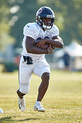 July 28, 2018 - Bourbonnais, IL, U.S. - BOURBONNAIS, IL - JULY 28: Chicago Bears running back Tarik Cohen (29) participates in drills during the Chicago Bears training camp on July 28, 2018 at Olivet Nazarene University in Bourbonnais, Illinois. (Photo by Robin Alam/Icon Sportswire) (Credit Image: © Robin Alam/Icon SMI via ZUMA Press)