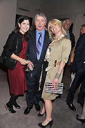 Left to right, STEPHEN & KIMBERLEY QUINN and RACHEL JOHNSON at a party to celebrate the publication of Can We Still Be Friends by Alexandra Shulman held at Sotheby's, 34-35 New Bond street, London on 28th March 2012.