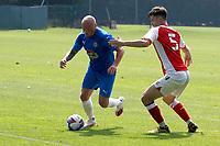 Sam Minihan. Stockport County 0-2 Fleetwood Town. Pre-Season Friendly. 15.8.20
