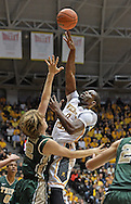 WICHITA, KS - NOVEMBER 14:  Forward Chadrack Lufile #0 of the Wichita State Shockers puts up a shot over forward Tim Rusthoven #22 of the William & Mary Tribe during the first half on November 14, 2013 at Charles Koch Arena in Wichita, Kansas.  Wichita State defeated William & Mary 79-62. (Photo by Peter Aiken/Getty Images) *** Local Caption *** Chadrack Lufile;Tim Rusthoven