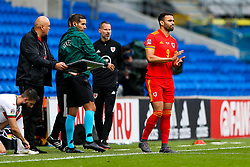 Hal Robson-Kanu of Wales - Rogan/JMP - 06/09/2020 - FOOTBALL - Cardiff City Stadium - Cardiff, Wales - Wales v Bulgaria - UEFA Nations League Group B4.