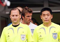 Photo: Chris Ratcliffe.<br /> England v Trinidad & Tobago. Group B, FIFA World Cup 2006. 15/06/2006.<br /> David Beckham enters the stadium.