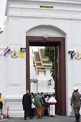 Foreign Dignitaries Arrive At The Royal Palace, in Bangkok, Thailand, on May 04, 2019. Coronation of the King of Thailand, Rama X, His Majesty King Maha Vajiralongkorn Bodindradebayavarangkun, Bangkok, Thailand. Photo by Loic Baratoux /ABACAPRESS.COM