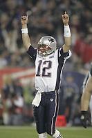 TOM DIPACE PHOTOGRAPHY©2005<br />561-968-0600 <br />Superbowl XXXVIIII<br />February 6, 2005<br />Eagles vs. Patriots<br />Tom Brady