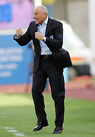 """L'allenatore dell'Empoli Luigi Cagni<br /> Empoli Trainer Luigi Cagni<br /> Italian """"Serie A"""" 2006-07 <br /> 05 November 2006 (Match Day 10)<br /> Empoli-Lazio (1-1)<br /> """"Castellani"""" Stadium-Empoli-Italy<br /> Photographer Luca Pagliaricci INSIDE"""