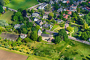 Nederland, Gelderland,  gemeente Renkum, 29-05-2019; Oude Kerk (van) Oosterbeek en Uiterwaarden Oosterbeek, Nederrijn. Tijdens WO II is er tijdens de geallieerde Slag van Arnhem, zwaar gevochten rond het kerkje, onderdeel Operatie Market Garden.<br /> Old  Oosterbeek, church. During World War II scene of the battle of the Allied troops, Battle of Arnhem, Operation Market Garden.<br /> <br /> luchtfoto (toeslag op standard tarieven);<br /> aerial photo (additional fee required);<br /> copyright foto/photo Siebe Swart