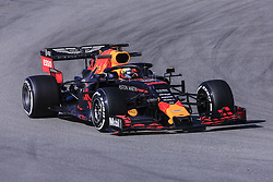February 18, 2019 - Barcelona, Barcelona, Spain - Max Verstappen from Nederland with 33 Aston Martin Red Bull Racing - Honda RB15 in action during the Formula 1 2019 Pre-Season Tests at Circuit de Barcelona - Catalunya in Montmelo, Spain on February 18. (Credit Image: © Xavier Bonilla/NurPhoto via ZUMA Press)