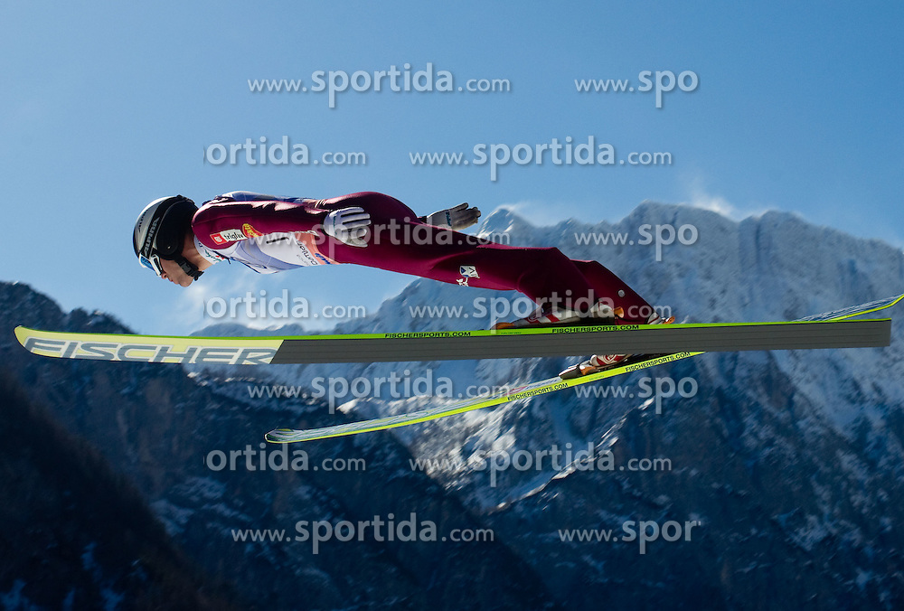 Jernej Damjan of Slovenia competes during Flying Hill Individual at 4th day of FIS Ski Jumping World Cup Finals Planica 2011, on March 20, 2011, Planica, Slovenia. (Photo by Vid Ponikvar / Sportida)