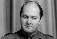 Major PR Adair, training officer, Armagh, Ulster Defence Regiment, UDR, N Ireland, 197002000039<br /> <br /> Copyright Image from Victor Patterson, Belfast, UK<br /> <br /> t: +44 28 9066 1296 (from Rep of Ireland 048 9066 1296)<br /> m: +44 7802 353836<br /> <br /> victorpattersonbelfast@gmail.com<br /> <br /> www.victorpatterson.com OR <br /> www.images4media.com<br /> <br /> Please see my Terms and Conditions of Use at https://www.victorpatterson.com/page2<br /> It is IMPORTANT that you familiarise yourself with them.<br /> <br /> Images used on the Internet incur an additional cost and must be visibly watermarked i.e. © Victor Patterson within the body of the image and copyright metadata must not be deleted. Images used on the Internet have a size restriction of 4 kbs and are chargeable at rates available at victorpatterson.com.<br /> <br /> This image is only available for the use of the download recipient i.e. television station, newspaper, magazine, book publisher, etc, and must not be passed on to any third party. It is also downloaded on condition that each and every usage is notified within 7 days to victorpattersonbelfast@gmail.com.