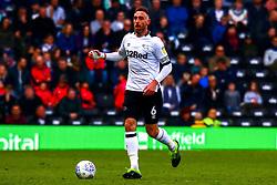 Richard Keogh of Derby County - Mandatory by-line: Ryan Crockett/JMP - 30/03/2019 - FOOTBALL - Pride Park Stadium - Derby, England - Derby County v Rotherham United - Sky Bet Championship