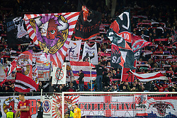 SALZBURG, AUSTRIA - Tuesday, December 10, 2019: FC Salzburg supporters during the final UEFA Champions League Group E match between FC Salzburg and Liverpool FC at the Red Bull Arena. (Pic by David Rawcliffe/Propaganda)