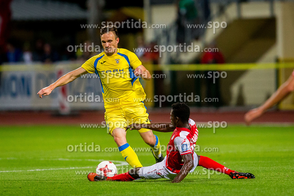 Tilen Klemencic of NK Domzale during football match between NK Domžale and NK Aluminij in 6th Round of Prva liga Telekom Slovenije 2017/18, on August 20, 2017 in Sports park Domzale, Domzale. Photo by Ziga Zupan / Sportida