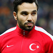 Turkey's Volkan Sen during their UEFA Euro 2016 qualification Group A soccer match Turkey betwen Kazakhstan at AliSamiYen Arena in Istanbul November 16, 2014. Photo by Kurtulus YILMAZ/TURKPIX