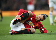 Manchester United's Zlatan Ibrhimovic in action during the Premier League match at Old Trafford Stadium, London. Picture date December 26th, 2016 Pic David Klein/Sportimage