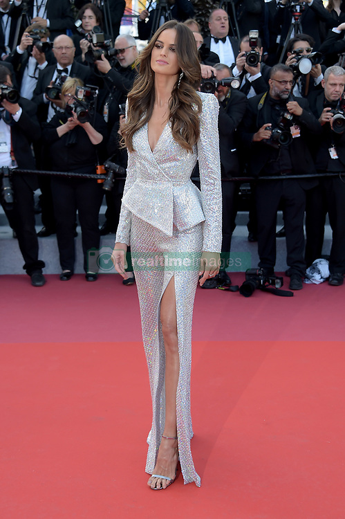 Alessandra Ambrosio attending the Rocketman premiere, held at the 72nd Cannes Film Festival on May 16, 2019.