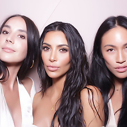 """Kim Kardashian releases a photo on Instagram with the following caption: """"Thank you again for the fun night!!! #KKWBEAUTY"""". Photo Credit: Instagram *** No USA Distribution *** For Editorial Use Only *** Not to be Published in Books or Photo Books ***  Please note: Fees charged by the agency are for the agency's services only, and do not, nor are they intended to, convey to the user any ownership of Copyright or License in the material. The agency does not claim any ownership including but not limited to Copyright or License in the attached material. By publishing this material you expressly agree to indemnify and to hold the agency and its directors, shareholders and employees harmless from any loss, claims, damages, demands, expenses (including legal fees), or any causes of action or allegation against the agency arising out of or connected in any way with publication of the material."""
