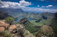 Stunning Scenery of the Panorama Route in South Africa - Blyde River Canyon