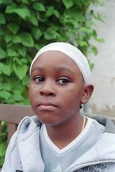 Portrait of a young boy,