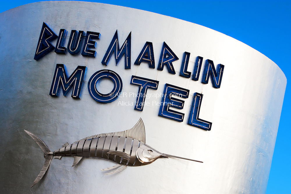 Blue marlin Hotel in Key West.  Located on Simonton St.
