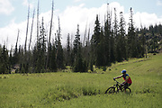 SHOT 8/5/17 11:25:50 AM - Photos while riding Brian Head Resort in Brian Head, Utah with Vesta Lingvyte of Denver, Co. Also includes images while riding the Thunder Mountain Trail in Southwestern Utah. (Photo by Marc Piscotty / © 2017)