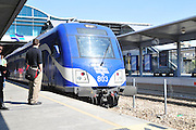 Israel, Ben-Gurion Airport train station