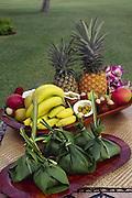 Luau food, Hawaii<br />