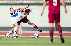 Nastja Ceh of Drava during 2nd Leg football match between NK Triglav Kranj and NS Drava Ptuj in Qualifications of Prva Liga Telekom Slovenije 2018/19, on June 6, 2018 in Kranj, Slovenia. Photo by Vid Ponikvar / Sportida