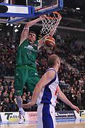 DESCRIZIONE : Torino Coppa Italia Final Eight 2012 Finale Montepaschi Siena Bennet Cantu <br /> GIOCATORE : Ksistof Lavrinovic<br /> CATEGORIA : schiacciata<br /> SQUADRA : Montepaschi Siena<br /> EVENTO : Suisse Gas Basket Coppa Italia Final Eight 2012<br /> GARA : Montepaschi Siena Bennet Cantu<br /> DATA : 19/02/2012<br /> SPORT : Pallacanestro<br /> AUTORE : Agenzia Ciamillo-Castoria/M.Marchi<br /> Galleria : Final Eight Coppa Italia 2012<br /> Fotonotizia : Torino Coppa Italia Final Eight 2012 Finale Montepaschi Siena Bennet Cantu<br /> Predefinita :