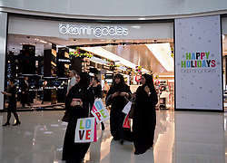 Bloomingdales store in Dubai Mall in Dubai in United Arab Emirates