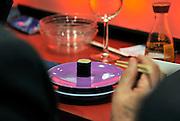 Nederland, Maastricht, 16-3-2012Sushi bar in het Mecc tijdens de european art fair.Foto: Flip Franssen/Hollandse Hoogte