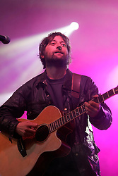 King Creosote on the Guitar stage, the Connect festival in Inveraray.<br /> ©Pic : Michael Schofield.