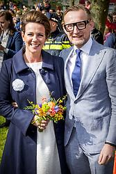 Prince Floris and Princess Aimée attending King's Day Celebrations in Groningen, Netherlands, on April 27, 2018. Photo by Robin Utrecht/ABACAPRESS.COM