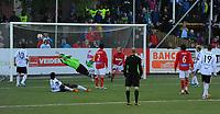 Fotball NM Cup 3.runde Byåsen - Rosenborg <br /> Byåsen Arena, Trondheim 25 mai 2011<br /> <br /> Mikael Dorsin scorer 5-2 for Rosenborg<br /> <br /> Foto : Arve Johnsen, Digitalsport