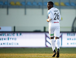 Mathias Pogba of Sezana, brother of Paul Pogba during football match between NK Domzale and NK CB24 Tabor Sezana in 22nd Round of Prva liga Telekom Slovenije 2020/21, on February 21, 2021 in Sports park Domzale, Slovenia. Photo by Vid Ponikvar / Sportida