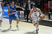 DESCRIZIONE : Bologna campionato serie A 2013/14 Acea Virtus Roma Enel Brindisi <br /> GIOCATORE : Lorenzo D'Ercole<br /> CATEGORIA : palleggio<br /> SQUADRA : Acea Virtus Roma<br /> EVENTO : Campionato serie A 2013/14<br /> GARA : Acea Virtus Roma Enel Brindisi<br /> DATA : 20/10/2013<br /> SPORT : Pallacanestro <br /> AUTORE : Agenzia Ciamillo-Castoria/GiulioCiamillo<br /> Galleria : Lega Basket A 2013-2014  <br /> Fotonotizia : Bologna campionato serie A 2013/14 Acea Virtus Roma Enel Brindisi  <br /> Predefinita :