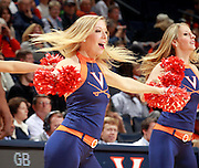 CHARLOTTESVILLE, VA- NOVEMBER 26:  The Virginia Cavalier dance team performs during the game on November 26, 2011 at the John Paul Jones Arena in Charlottesville, Virginia. Virginia defeated Green Bay 68-42. (Photo by Andrew Shurtleff/Getty Images) *** Local Caption ***