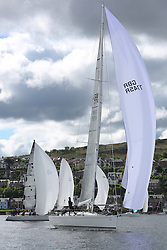 The Silvers Marine Scottish Series 2014, organised by the  Clyde Cruising Club,  celebrates it's 40th anniversary.<br /> Day 1, GBR7745R, Eala of Rhu, J McGarry / C Moore, RNCYC, Swan 45.<br /> <br /> Racing on Loch Fyne from 23rd-26th May 2014<br /> <br /> Credit : Marc Turner / PFM