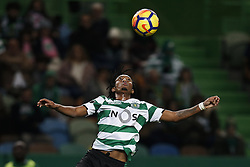 December 17, 2017 - Lisbon, Portugal - Sporting's forward Gelson Martins in action during Primeira Liga 2017/18 match between Sporting CP vs Portimonense SC, in Lisbon, on December 17, 2017. (Credit Image: © Carlos Palma/NurPhoto via ZUMA Press)