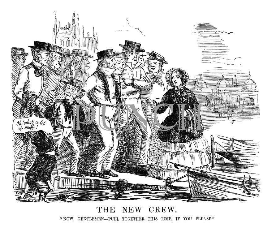 """The New Crew. """"Now, Gentlemen - Pull Together This Time, If You Please."""""""