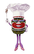 """BBQ time with Bick's Relish's friendly character """"Rosa Relish"""""""