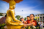 New Year's Merit Making in Bangkok