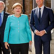 NLD//Middelburg20160421 - Four Freedoms Awards 2016, Duitse bondskanselier Angela Merkel en premier Mark Rutte