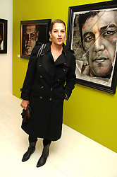 TRACEY EMIN at an exhibition of artist Paul Karslake's work entitled Ideas & Idols, held at Scream, 34 Bruton Street, London W1 on 21st February 2008.<br /><br />NON EXCLUSIVE - WORLD RIGHTS