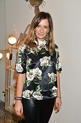 MELISSA DEL BONO at a party hosted by Melissa Del Bono to celebrate the launch of her Meli Melo flagship store at 324 Portobello Road, London W10 on 28th November 2013.
