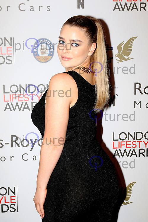 Amy Christophers, London Lifestyle Awards, Lancaster London Hotel UK, 03 October 2016, Photo by Richard Goldschmidt