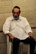 Israel, Jerusalem, Wailing Wall, Jews during Selichot prayers. Selichot (Selihot) are Jewish penitential poems and prayers, especially those said in the period leading up to the High Holidays,