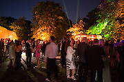 Serpentine's Summer party co-hosted with Christopher Kane. 15th Serpentine Pavilion designed by Spanish architects Selgascano. Kensington Gardens. London. 2 July 2015.