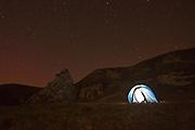 Wild camping at Port Domhnuill Chruinn on Islay's North Coast
